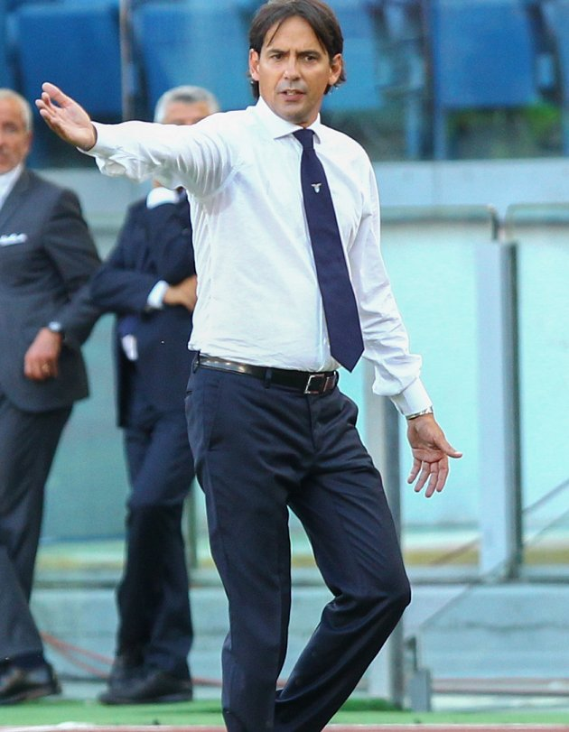 Lazio coach Inzaghi welcomes praise from Napoli president ADL
