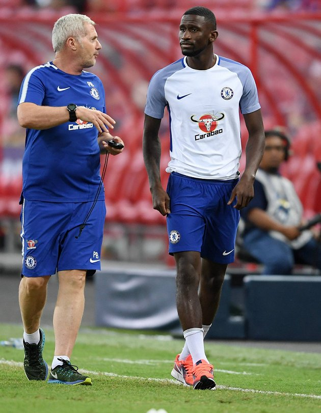 ​Chelsea defender Rudiger nominated for German football award