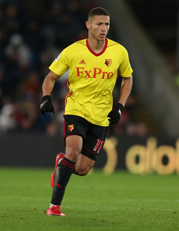 Watford striker Richarlison: Chelsea? Ask my agents...