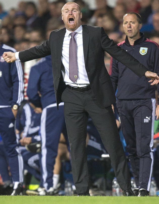 Burnley boss Sean Dyche: I'm in no comfort zone here
