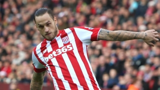 Stoke boss Hughes delighted with goalscorer Arnautovic