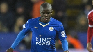Arsenal edge ahead of Man Utd, Chelsea in race for Leicester star Kante