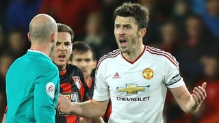 ​Carrick earns the plaudits from Man Utd boss Mourinho