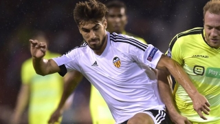 Valencia welcome Barcelona swap talks for Andre Gomes