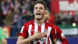 Saul Niguez happy to stick with Atletico Madrid