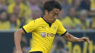 Real Zaragoza to sign Borussia Dortmund midfielder Shinji Kagawa