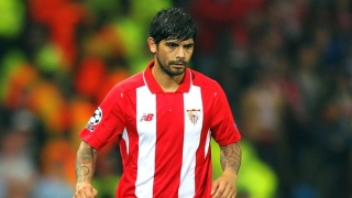 Inter Milan boss Mancini coy over Banega deal