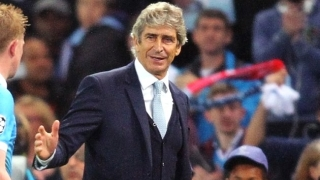 Pellegrini eyeing Arsenal win to give Man City path to Champions League