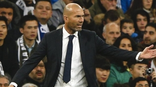 Real Madrid coach Zidane doesn't feel job pressure
