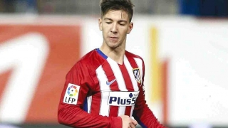 Luciano Vietto and Angel Correa leaving Atletico Madrid