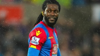 Ex-Crystal Palace striker Adebayor hoping for Premier League return