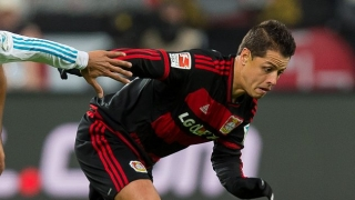 Chicharito in London for West Ham medical