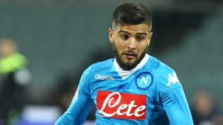 Napoli attacker Lorenzo Insigne shrugs off Barcelona talk