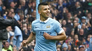 Sergio Aguero happy to sign new Man City deal