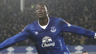 Belgium coach Martinez happy working with Everton striker Romelu Lukaku