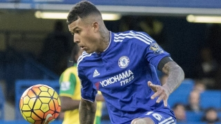 SNAPPED: Kenedy welcomes Ramires to Chelsea training