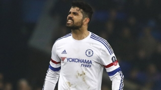 Chelsea striker Diego Costa suffers injury setback