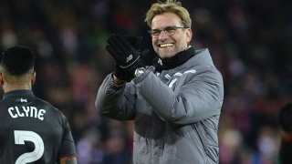 Klopp hails 'wonderful night' for Liverpool but still calls for improvement