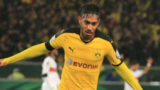 Man City target Aubameyang hits out at Real Madrid rumours