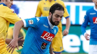 LVG to pursue Napoli ace Higuain if he remains at Man Utd helm
