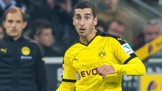 Juventus join battle for Borussia Dortmund midfielder Henrikh Mkhitaryan