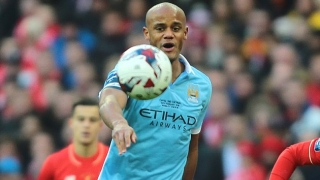 Guardiola calm on injured Man City skipper Kompany