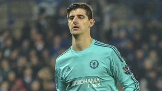 Chelsea keeper Thibaut Courtois: Mourinho clash just ho-hum