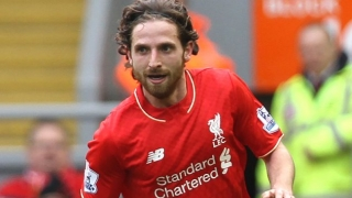 Liverpool midfielder Joe Allen undergoing Stoke medical