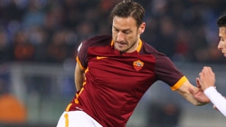Roma coach Spalletti: I wish I could give Totti a DeLorean