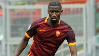 Rudiger 'very happy' at Roma