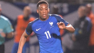 Man Utd striker Martial: Brazilian duo my heroes