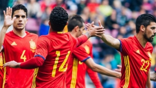 WC2018: Chelsea's Costa, Man City's Silva at the double as Spain run riot