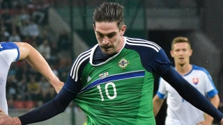 ​Striker Lafferty still in with a shout at Norwich