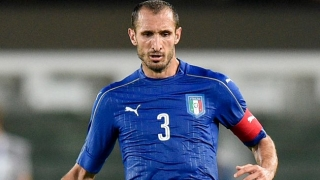 Juventus defender Giorgio Chiellini: I'm worried...