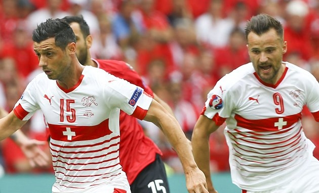 EURO2016: Shaqiri wonder goal not enough for Switzerland as Poland win shootout