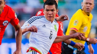 Arsenal chief scout Rowley checks on Mexican dazzler Hirving Lozano