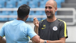 Man City boss Guardiola happy to hear of Maffeo performance against Messi