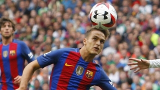 Agent eases Barcelona exit talk for Denis Suarez