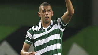 Arsenal scouts watched Sporting CP striker Islam Slimani