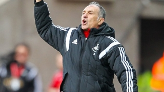 Swansea boss Guidolin: I'm worried about table - not my job
