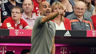 Man City boss Guardiola drops in at Bayern Munich