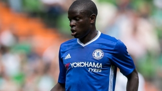 Chelsea defender David Luiz: We're all so happy for Kante!