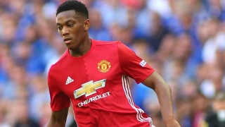Martial upset after latest Man Utd omission