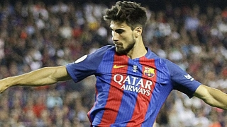 Barcelona coach Luis Enrique delighted for Andre Gomes, Alcacer after Osasuna win