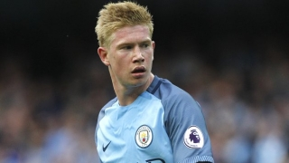 De Bruyne to miss three weeks with Man City - Guardiola