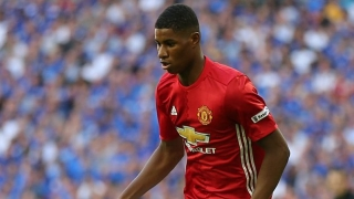 ​Rashford in awe of Man Utd stars Rooney and Ibrahimovic