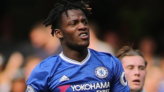 Chelsea striker Michy Batshuayi snaps back at angry fan