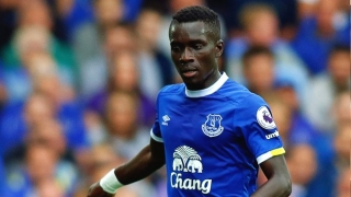 Senegal star Gana Gueye representing Everton in Gabon