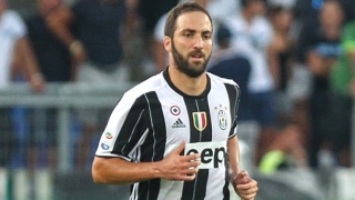 Juventus striker Higuain happy Dybala off mark, but...