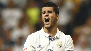 Chelsea boss Conte leaves  Real Madrid striker Morata to Man Utd